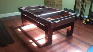 Pool and billiard table set ups and installations in Riverside California