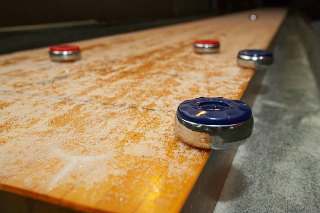 SOLO® Shuffleboard Movers Riverside, California.